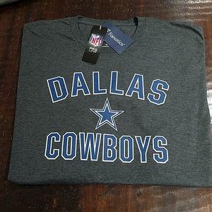 NFL DALLAS COWBOYS 5XL PRO LINE GRAY TEE